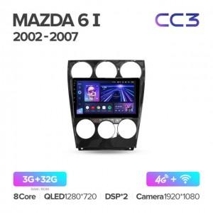 Штатная автомагнитола на Android TEYES CC3 для Mazda 6 GH 2002-2007