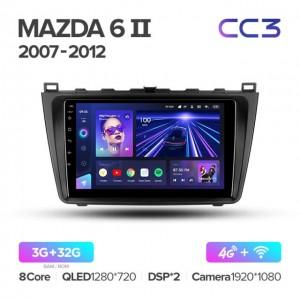 Штатная автомагнитола на Android TEYES CC3 для Mazda 6 GH 2007-2012