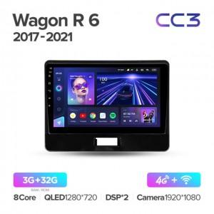 Штатная автомагнитола на Android TEYES CC3 для Suzuki Wagon R 6 VI 2017-2021