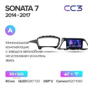 Штатная автомагнитола на Android TEYES CC3 для Hyundai Sonata 7 LF 2014-2017 (Версия А)