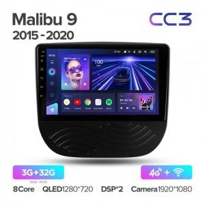 Штатная автомагнитола на Android TEYES CC3 для Chevrolet Malibu 9 2015-2020