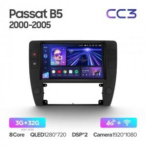 Штатная автомагнитола на Android TEYES CC3 для Volkswagen Passat B5 2000-2005
