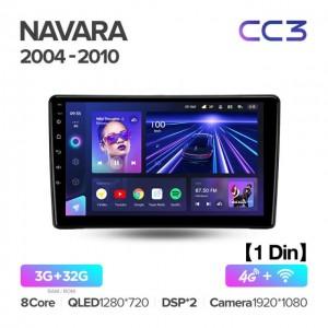 Штатная автомагнитола на Android TEYES CC3 для Nissan Navara D40 2004-2010