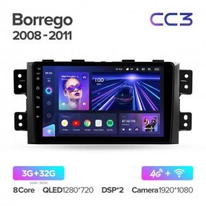 Штатная автомагнитола на Android TEYES CC3 для Kia Borrego 2008-2011