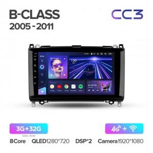 Штатная автомагнитола на Android TEYES CC3 для Mercedes-Benz B-Class T245 2005-2011