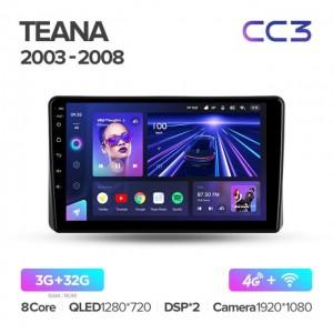 Штатная автомагнитола на Android TEYES CC3 для Nissan Teana J31 2003-2008