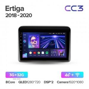 Штатная автомагнитола на Android TEYES CC3 для Suzuki Ertiga 2018-2020