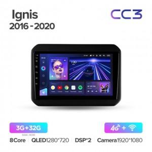 Штатная автомагнитола на Android TEYES CC3 для Suzuki Ignis 2016-2020