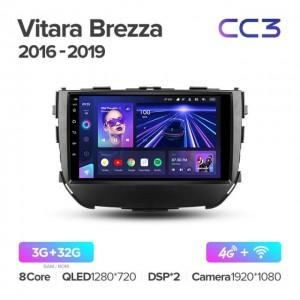 Штатная автомагнитола на Android TEYES CC3 для Suzuki Vitara Brezza 2016-2019