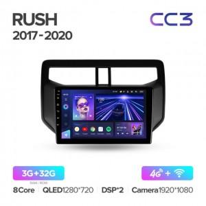Штатная автомагнитола на Android TEYES CC3 для Toyota Rush 2017-2020