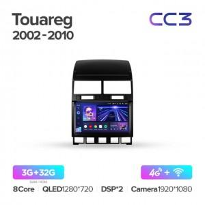 Штатная автомагнитола на Android TEYES CC3 для Volkswagen Touareg GP 2002-2010