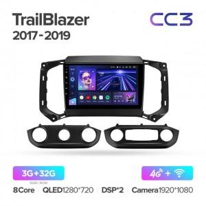 Штатная автомагнитола на Android TEYES CC3 для Chevrolet TrailBlazer 2017-2019