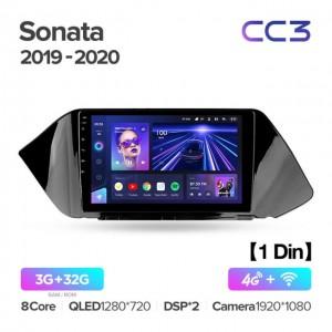 Штатная автомагнитола на Android TEYES CC3 для Hyundai Sonata DN8 2019-2020