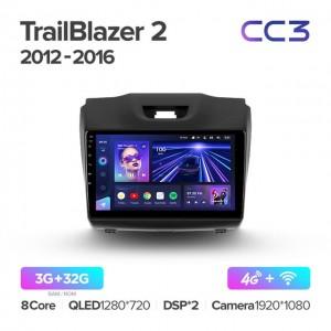 Штатная автомагнитола на Android TEYES CC3 для Chevrolet TrailBlazer 2 2012-2016