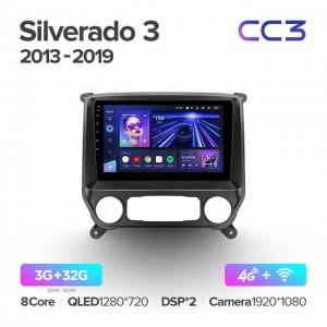 Штатная автомагнитола на Android TEYES CC3 для Chevrolet Silverado 3 GMTK2 2013-2019