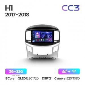 Штатная автомагнитола на Android TEYES CC3 для Hyundai H1 2 2017-2018