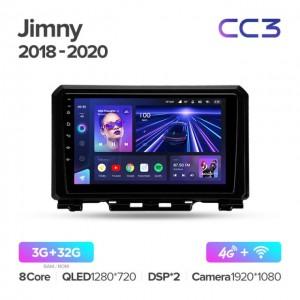 Штатная автомагнитола на Android TEYES CC3 для Suzuki Jimny JB64 2018-2020