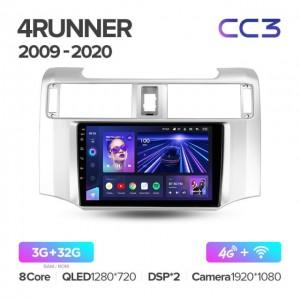 Штатная автомагнитола на Android TEYES CC3 для Toyota 4Runner 5 N280 2009-2020