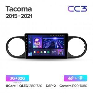 Штатная автомагнитола на Android TEYES CC3 для Toyota Tacoma N300 2015-2021