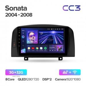 Штатная автомагнитола на Android TEYES CC3 для Hyundai Sonata NF 2004-2008