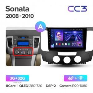 Штатная автомагнитола на Android TEYES CC3 для Hyundai Sonata NF 2008-2010 (Версия А)
