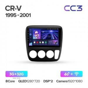 Штатная автомагнитола на Android TEYES CC3 для Honda CR-V 1995-2001