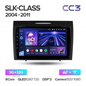 Штатная автомагнитола на Android TEYES CC3 для Mercedes-Benz SLK-Class SLK Class R171 2004-2011