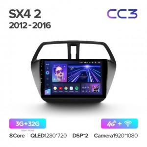 Штатная автомагнитола на Android TEYES CC3 для Suzuki SX4 2 S-Cross 2012-2016