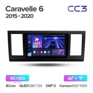Штатная автомагнитола на Android TEYES CC3 для Volkswagen Caravelle 6 T6.1 T6 2015-2020