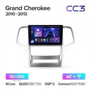 Штатная автомагнитола на Android TEYES CC3 для Jeep Grand Cherokee WK2 2010-2013