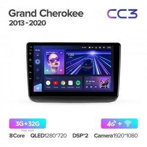 Штатная автомагнитола на Android TEYES CC3 для Jeep Grand Cherokee WK2 2013-2020