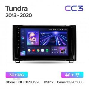 Штатная автомагнитола на Android TEYES CC3 для Toyota Tundra XK50 2013-2020