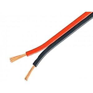 Силовой кабель ШВП 2-2Х0.75 ЧЕРНЫЙ/КРАСНЫЙ