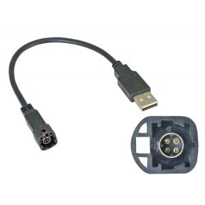 USB переходник INCAR USB VW-FC106 для Volkswagen, Skoda (тип1)