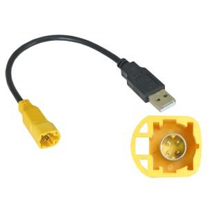 USB переходник INCAR USB VW-FC107 для Volkswagen, Skoda (тип2)