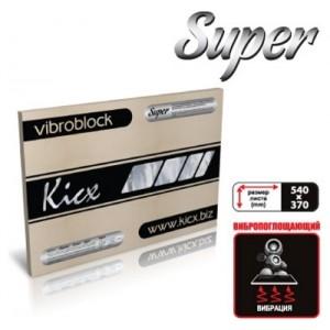 Виброизоляционные материалы Kicx Super