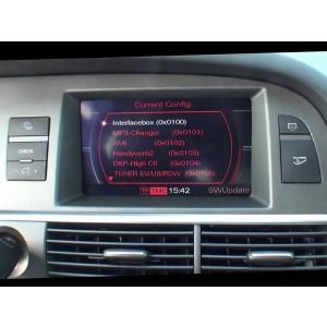 Видео интерфейс GAZER VC700-MMI/2G для Audi с установленной системой MMI 2G