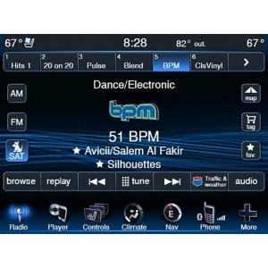 Видео интерфейс Gazer VC700-UCON/IN для Dodge, Chrysler, Jeep с системой UConnect 8,4