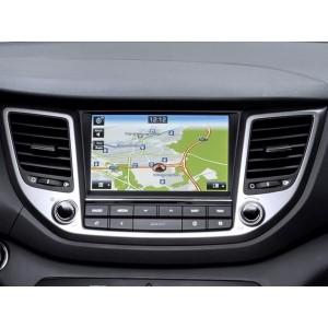 Видео интерфейс Gazer VC700-BLULNK для Hyundai с установленной системой Hyundai Bluelink