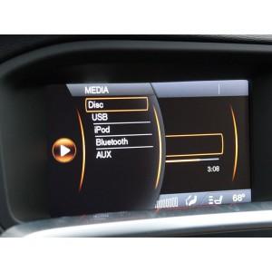 Видео интерфейс Gazer VC700-SNS7 для Volvo с установленной системой Sensus 7