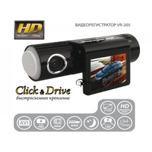 Видеорегистратор автомобильный Phantom VR 205